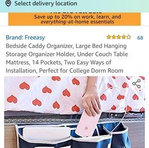 freeasy Storage & Organization - Bedside caddy , New in pkg